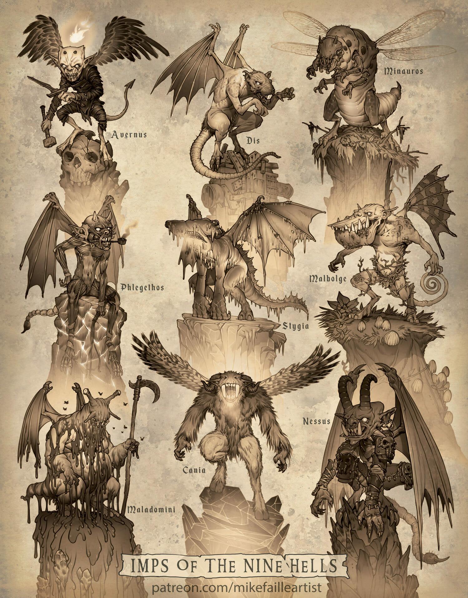 Nine Hells of D&D