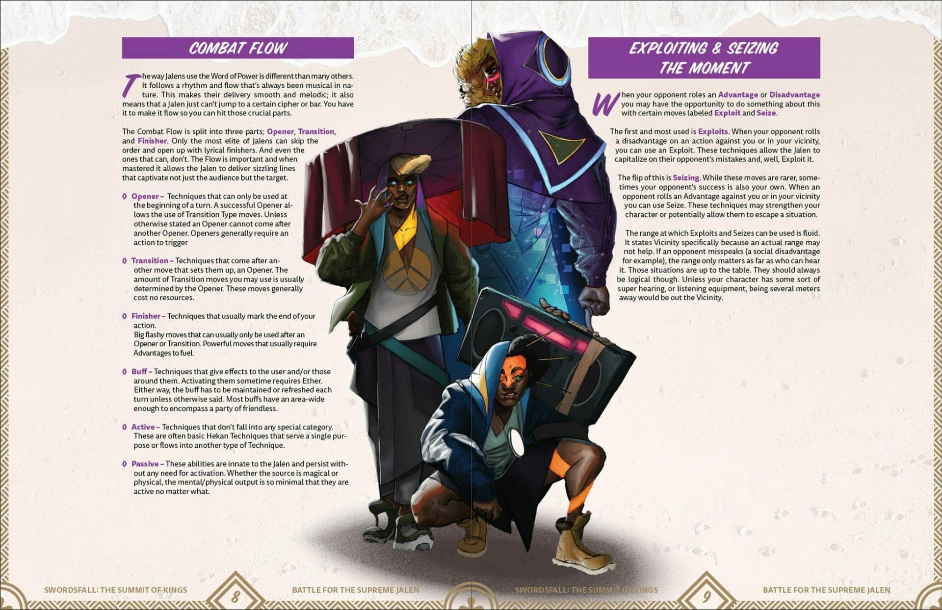 Swordsfall: Jalen