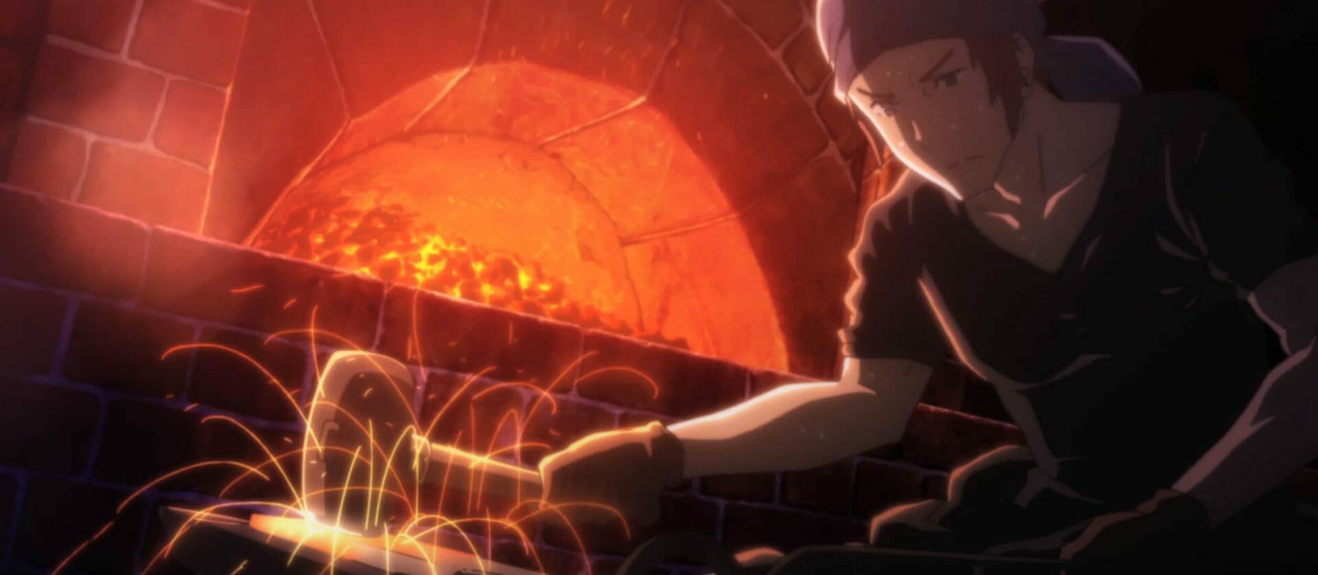 Warrior blacksmith