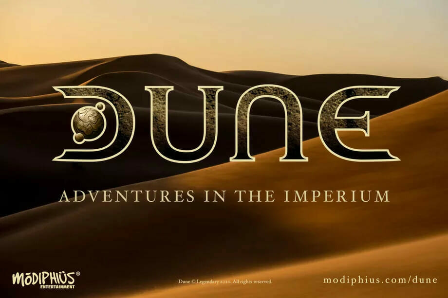 Dune RPG: Adventures in the Imperium