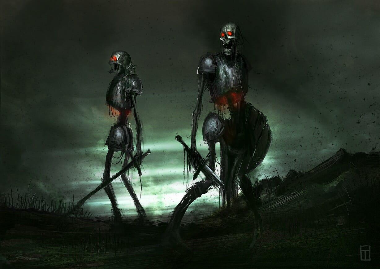 Undead Minions by Eryk Szczygieł