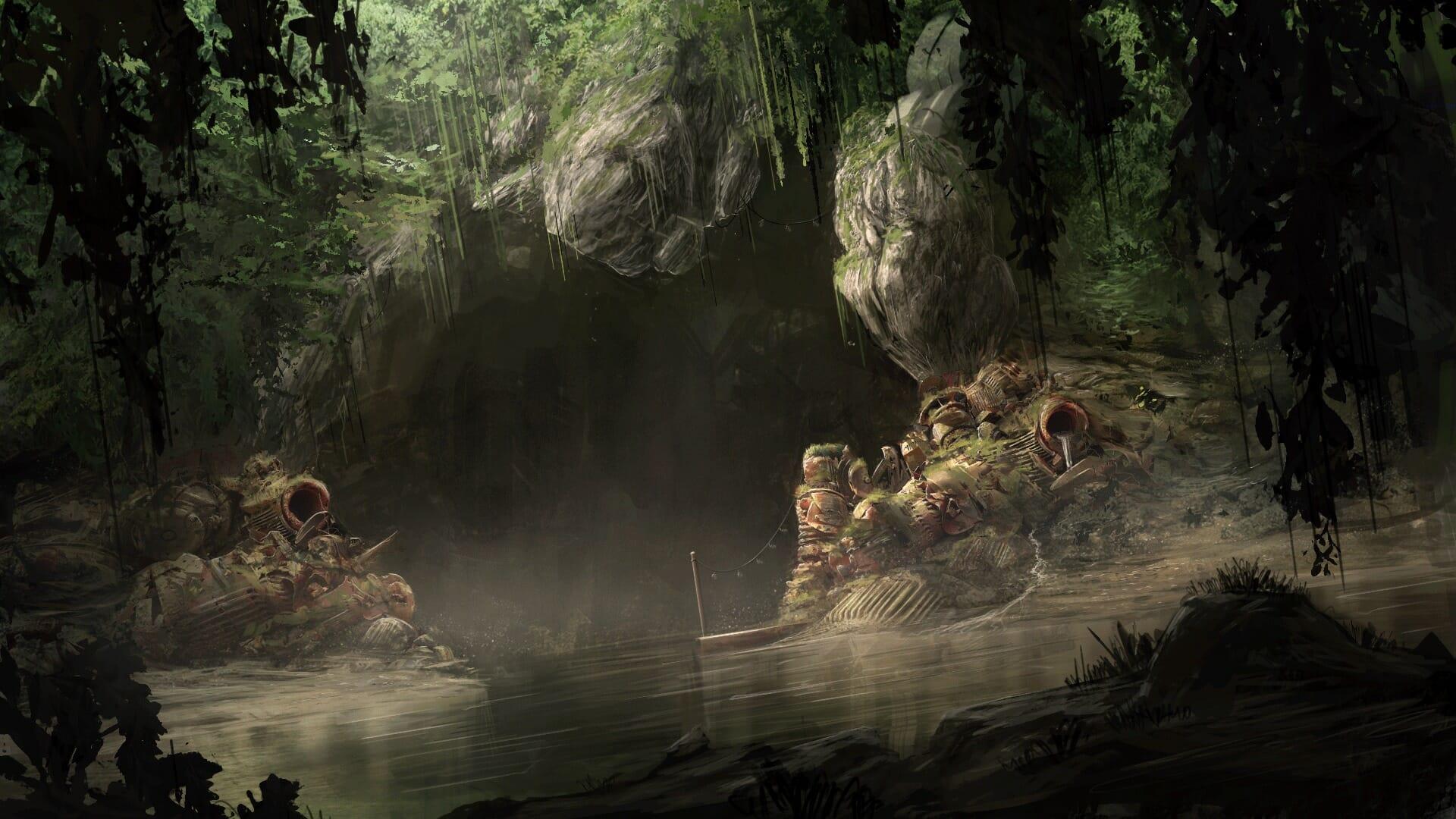 Smuggler's Cave by Tom Prante
