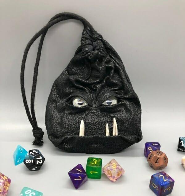 Creature Clutches - gobbo dice bag