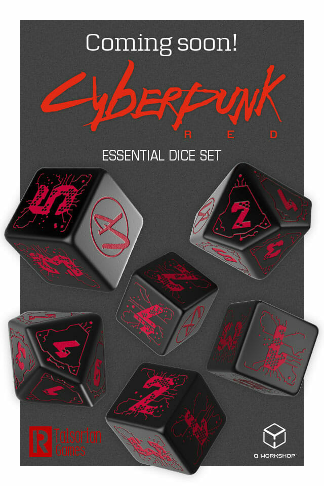 Cyberpunk Red dice