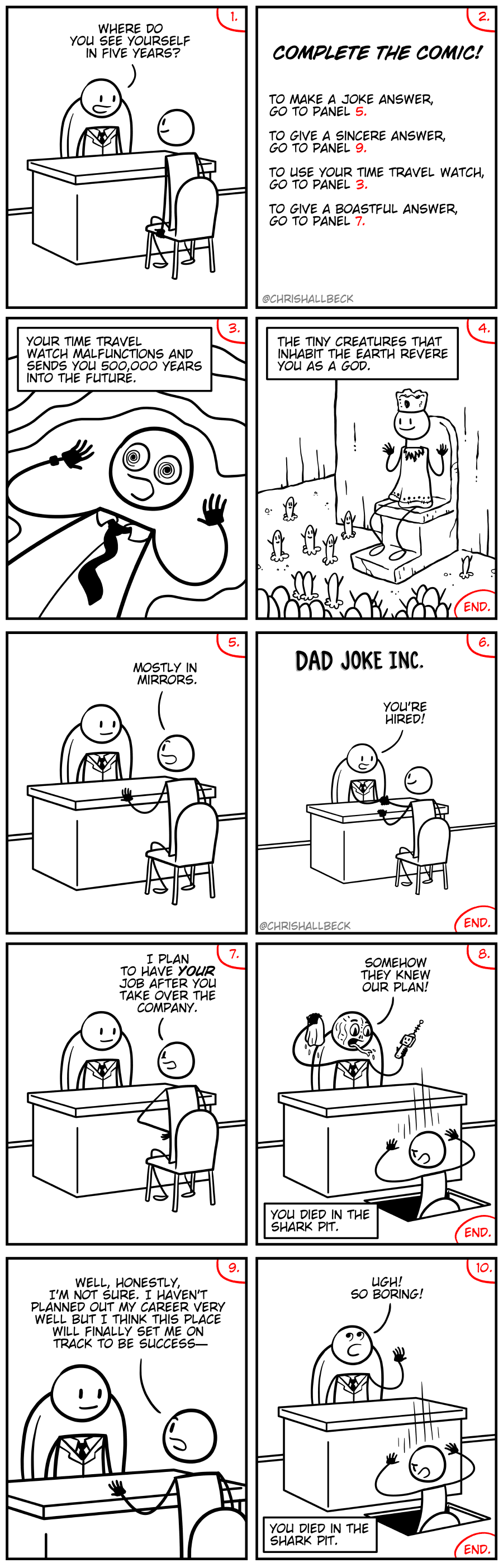 Complete the Comic