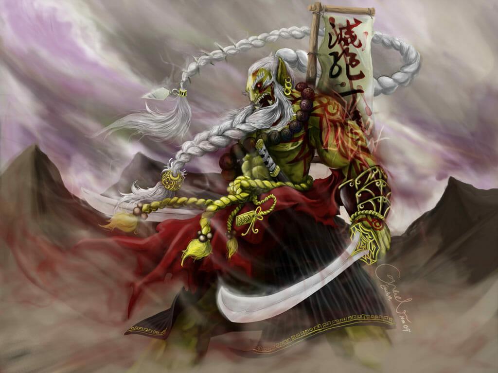 Royal Orc Blade Blaster by xhchenz.