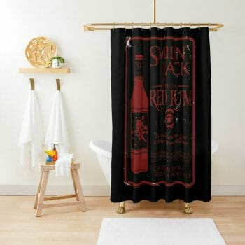 PEG Red Rum shower curtain