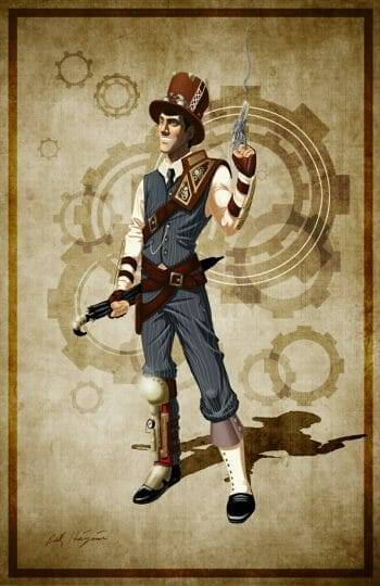 Steampunk Hero by Erick Hinojosa