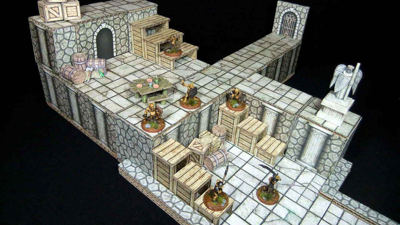 Cardboard dungeon