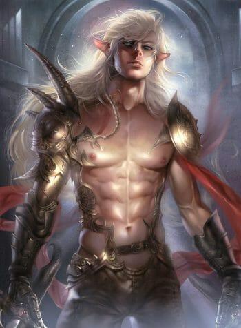 Elf Warrior by Zeilyan.