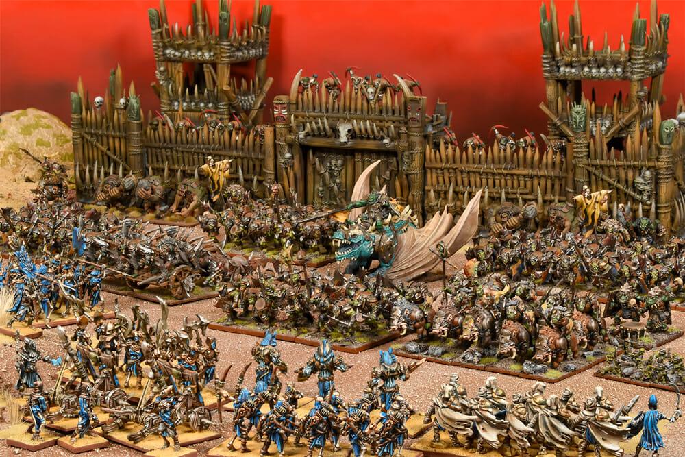 Kings of War wargame