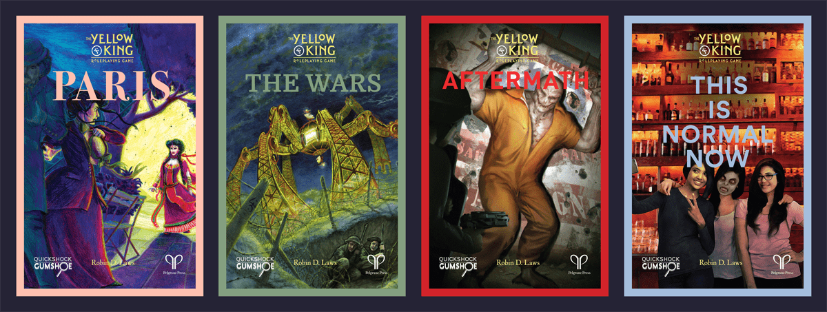 The Yellow King RPG books