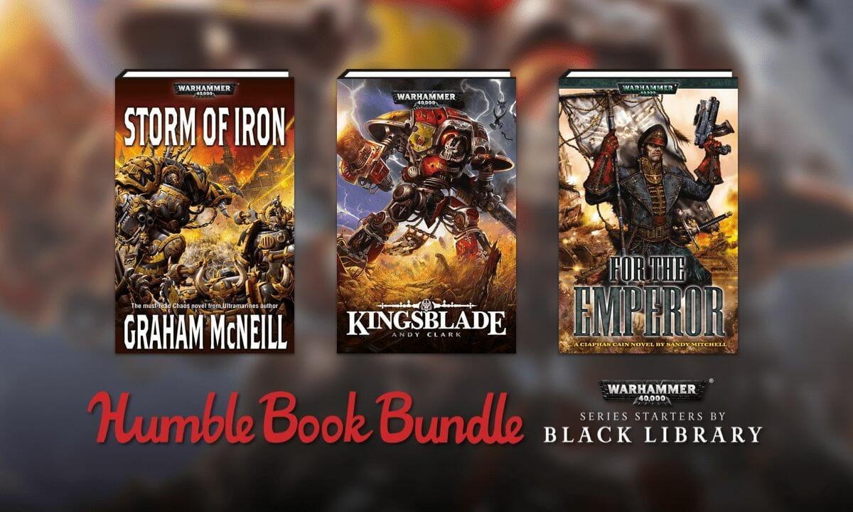 Humble Bundle Book Deal: Warhammer 40K