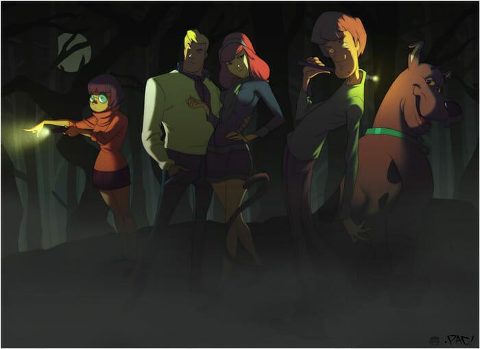 The Scooby Doo Crew by Coran Kizer Stone