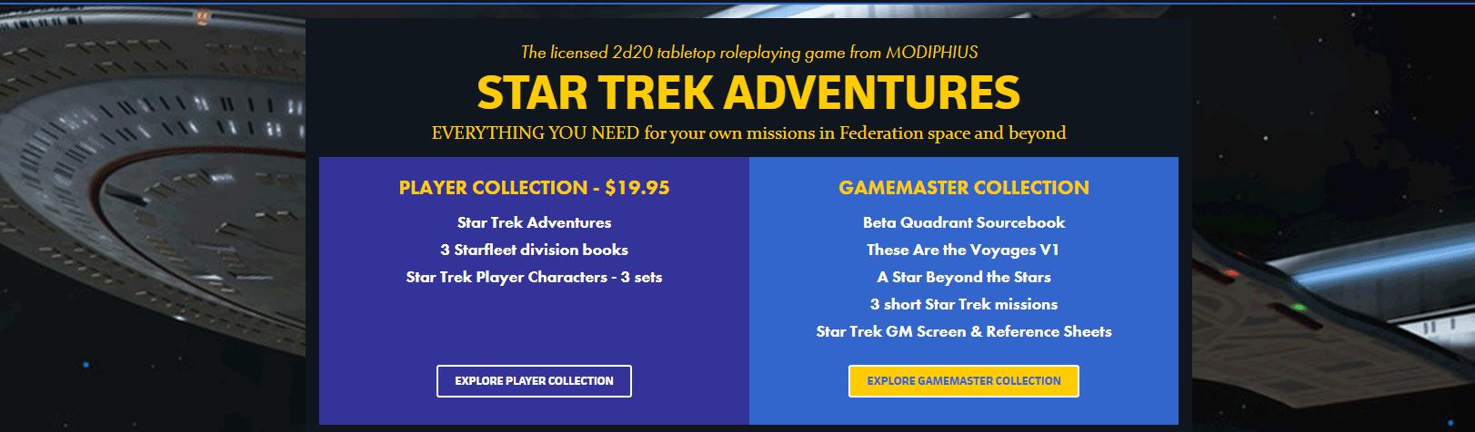 Star Trek Adventures bundle