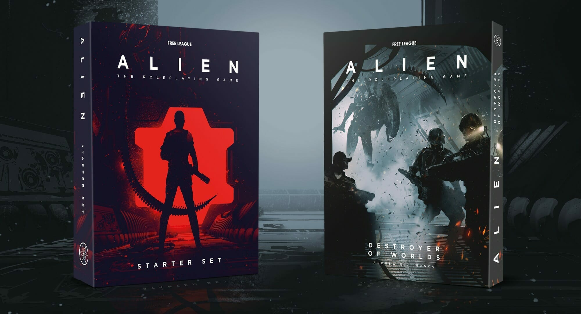 Alien RPG books from Free League Publishing