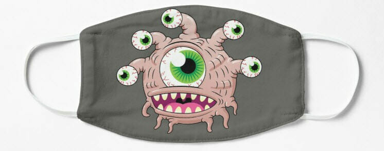 Happy eye tyrant mask