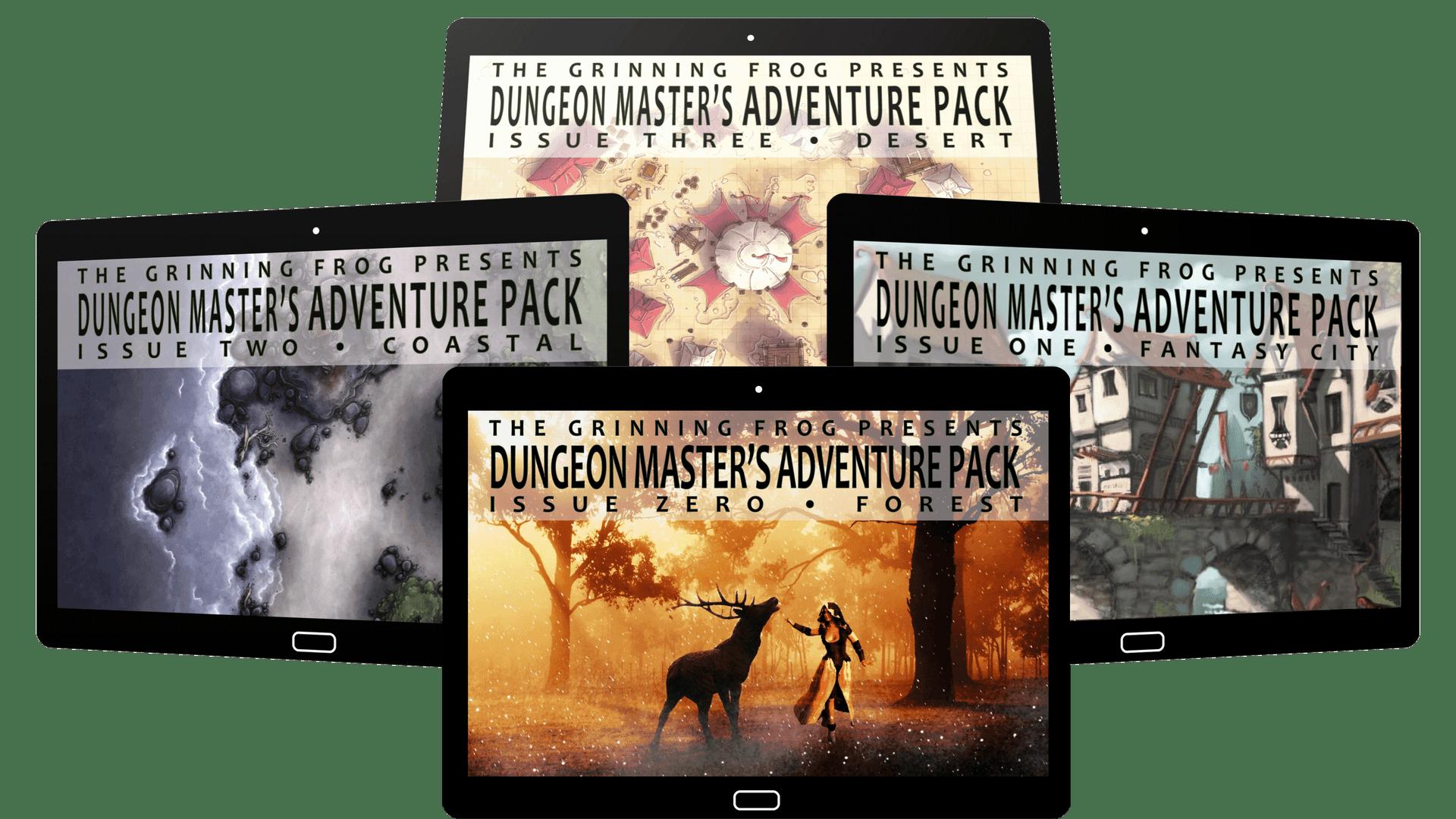 Dungeon Master's adventure pack