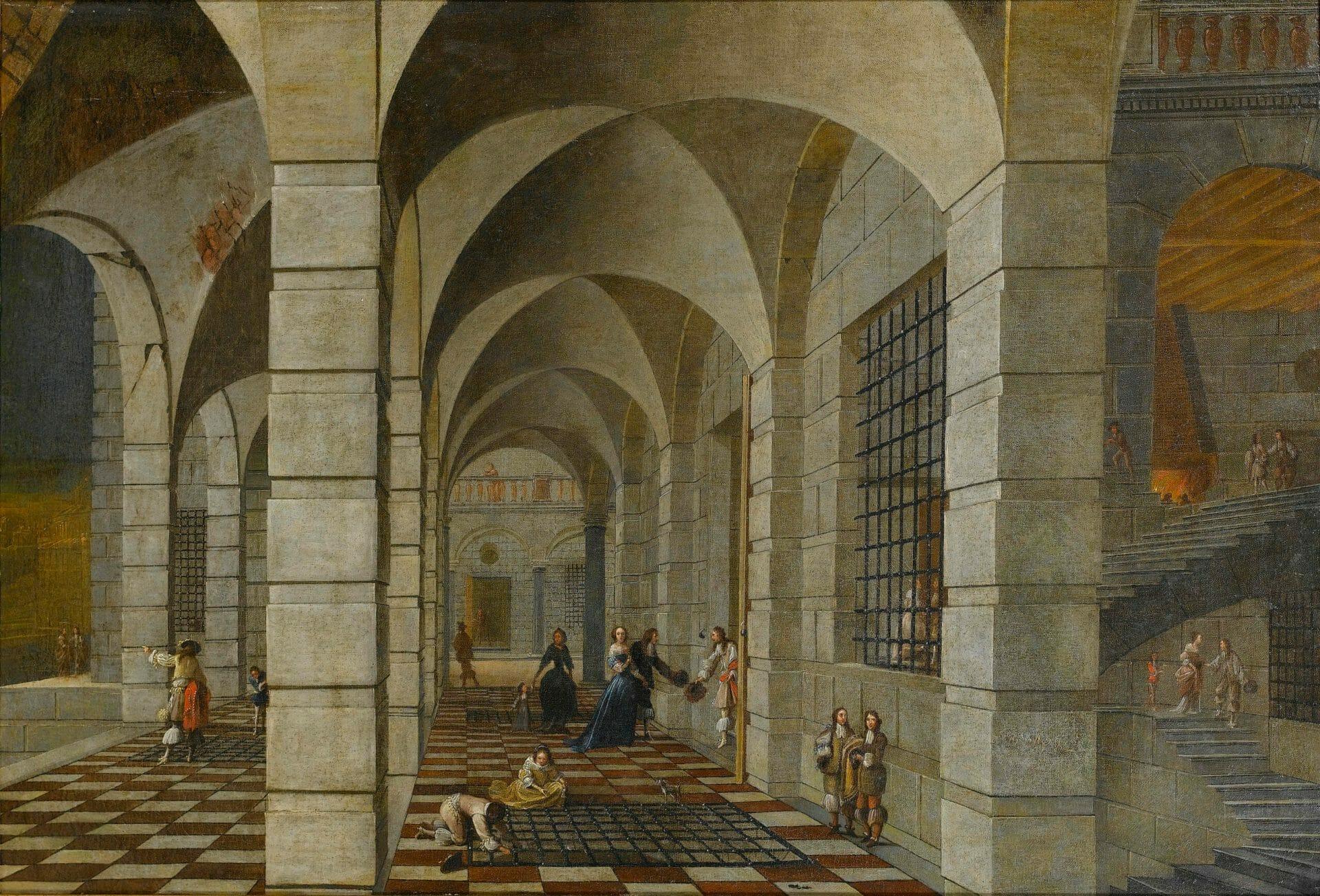 Wilhelm Schubert van Ehrenberg Dungeon Interior