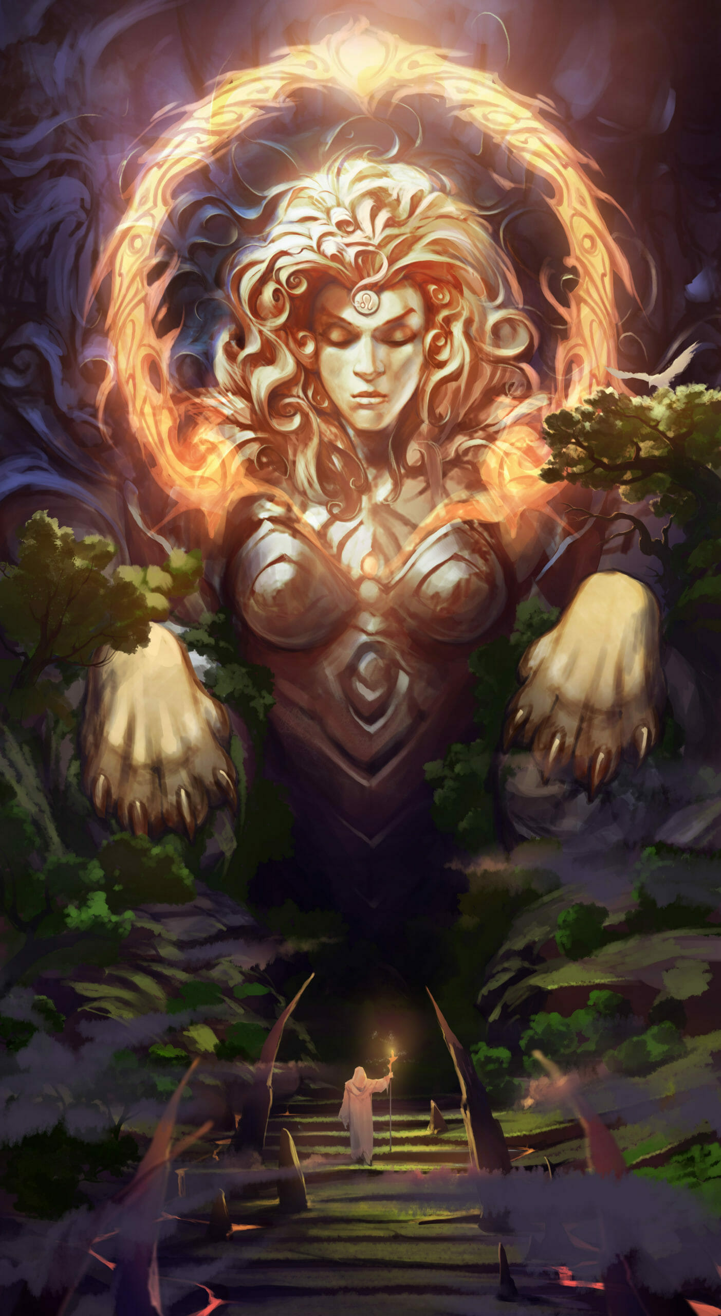 Exalted Vales - Lioness
