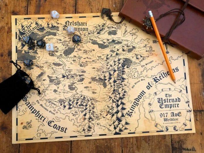 Custom cartography