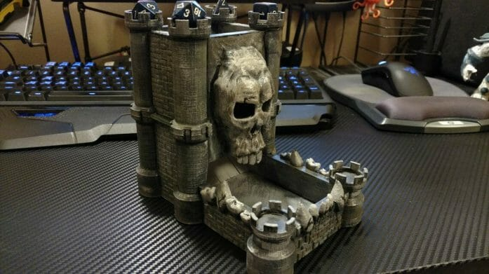 skull castle dice tower