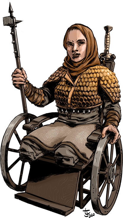 Combat Wheelchair