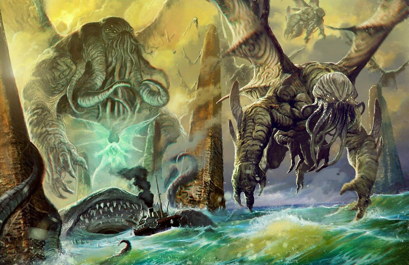Cthulhu Mythos Bestiary Chaosium Publishes 480 Manual Guide