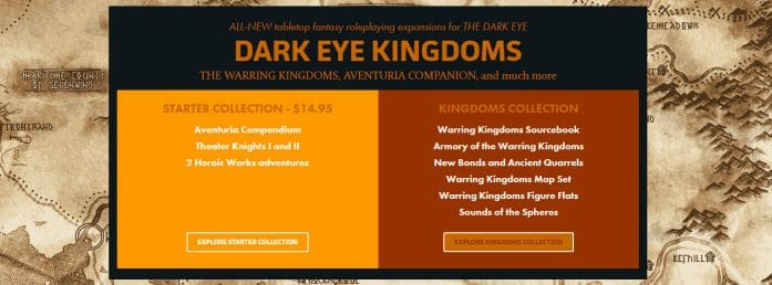 Dark Eye Kingdoms