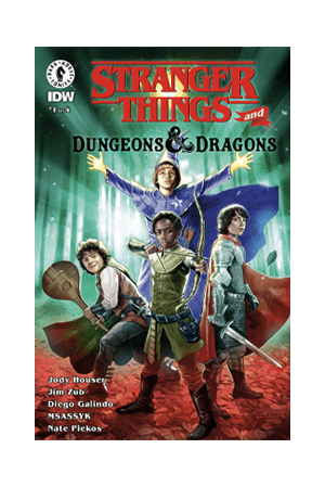 Stranger Things and Dungeons & Dragons comic