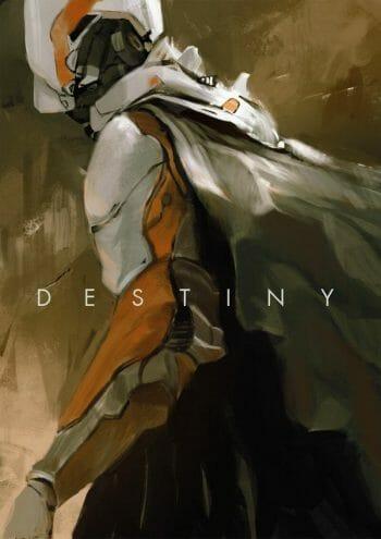 Destiny Fanart by Sandro Rybak