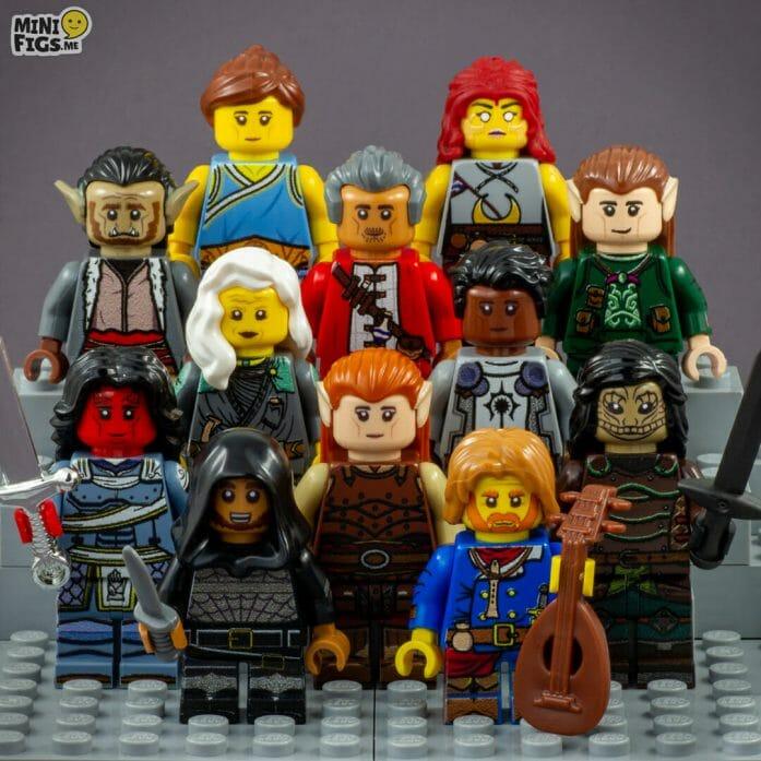 Lego D&D party