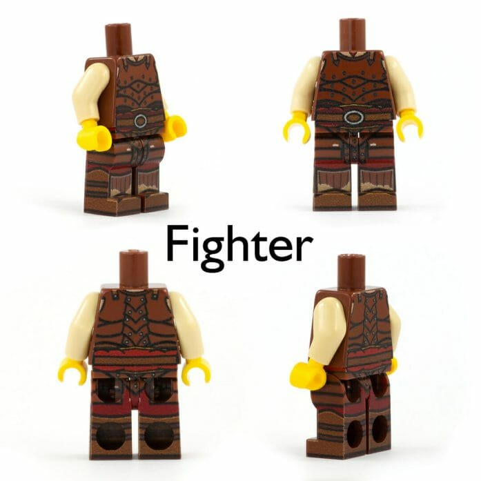 Fighter minifig
