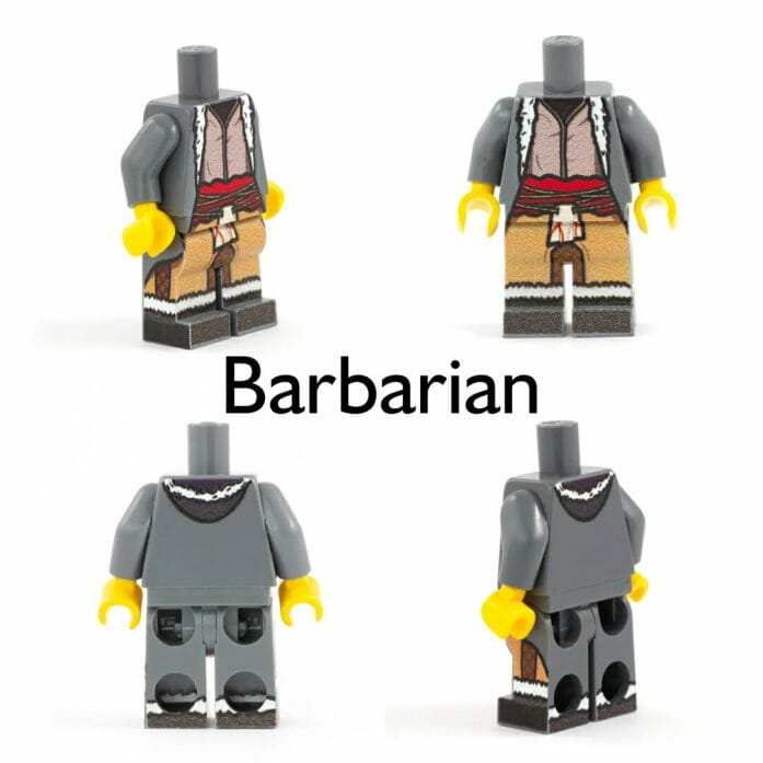 Barbarian minifig