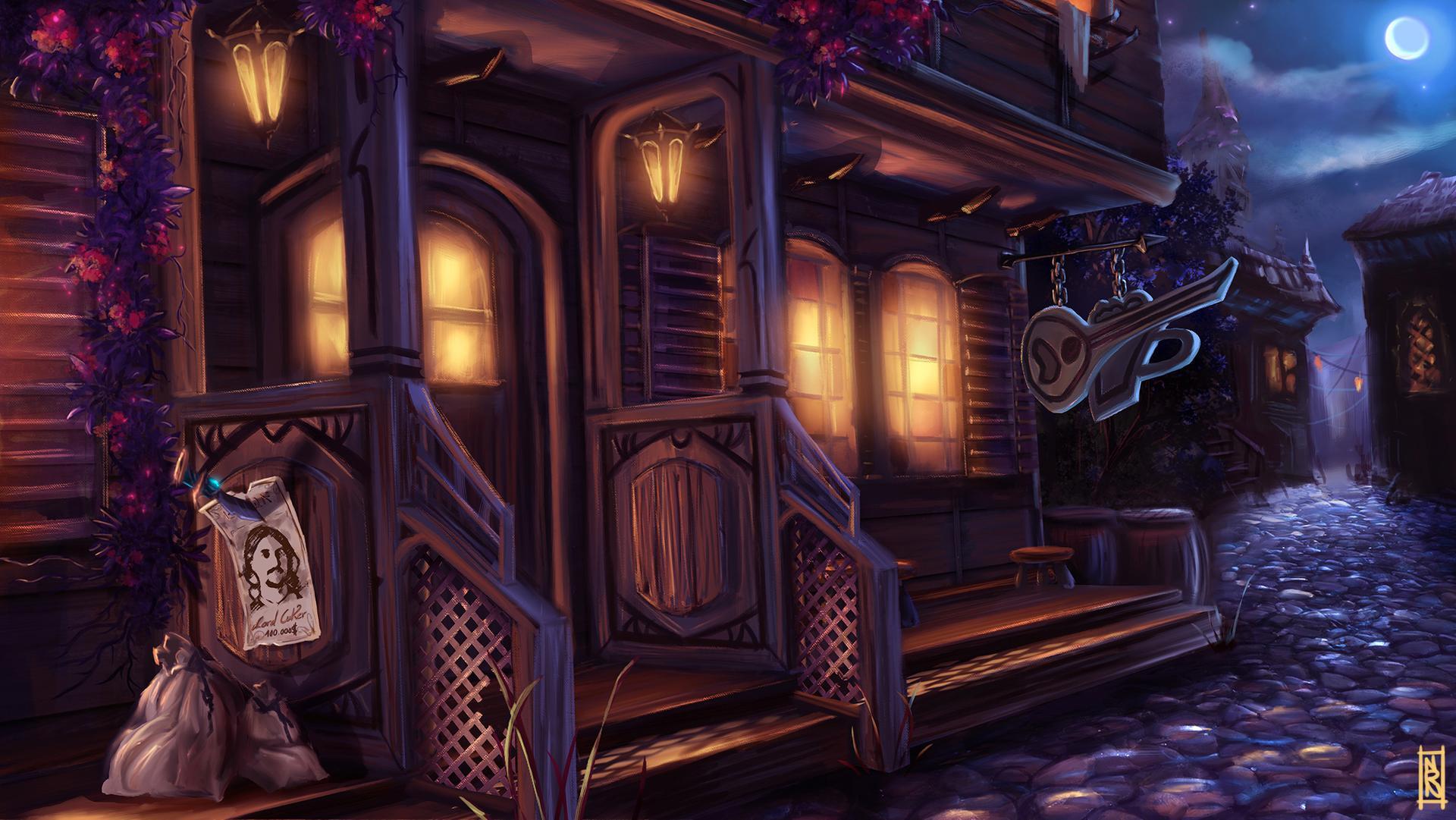 Random fantasy tavern generator