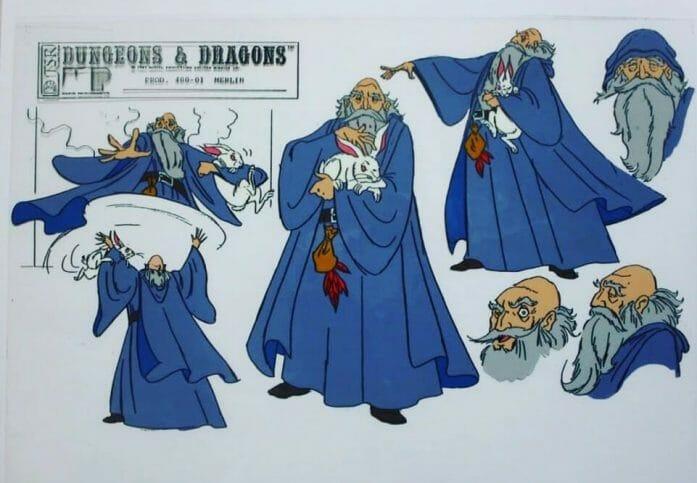 Original D&D Dungeon Master prototype