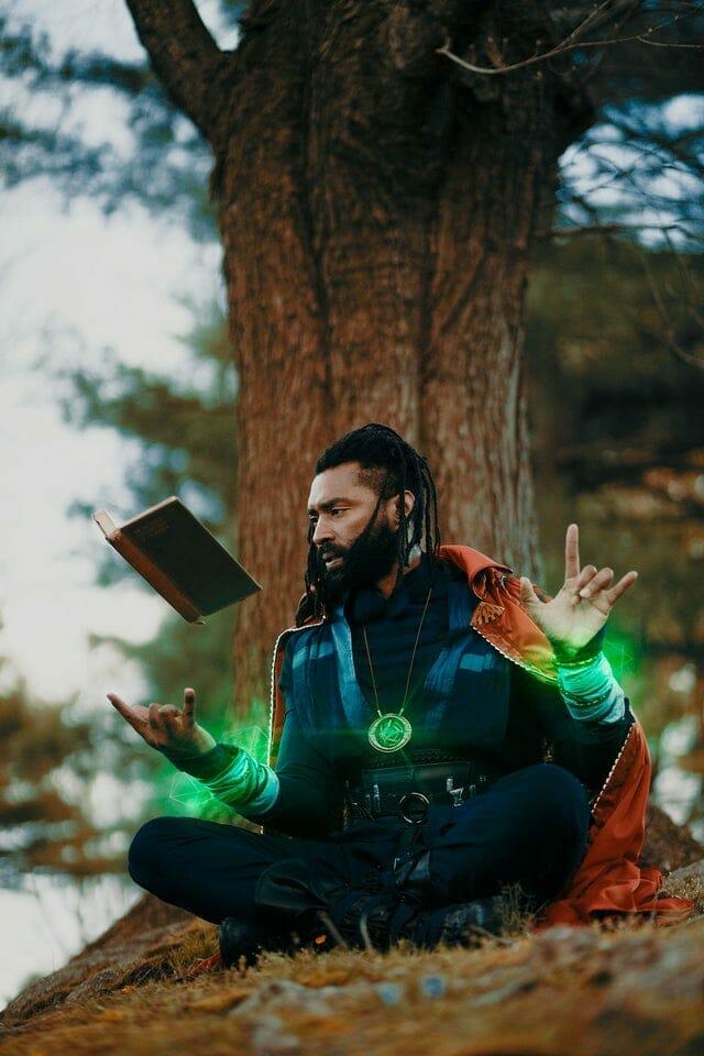 Jonathan Belle as Doctor Strange.