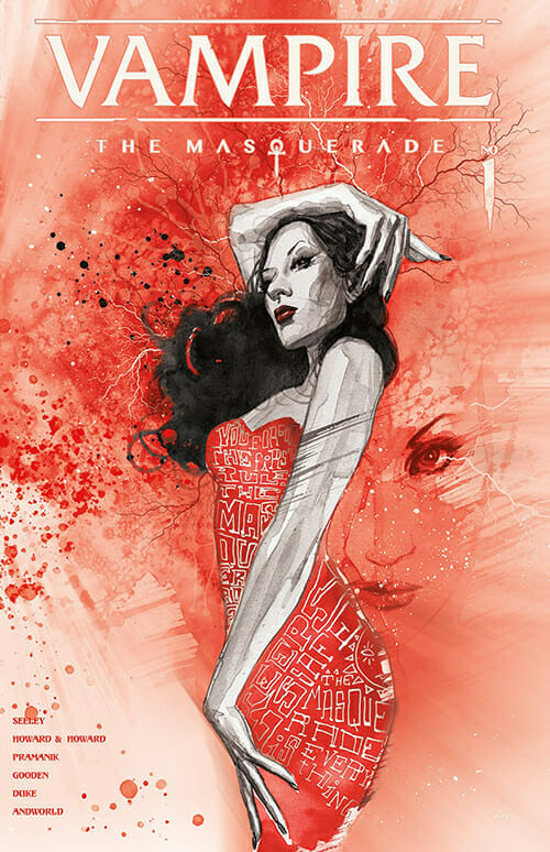Vampire: The Masquerade David Mack cover