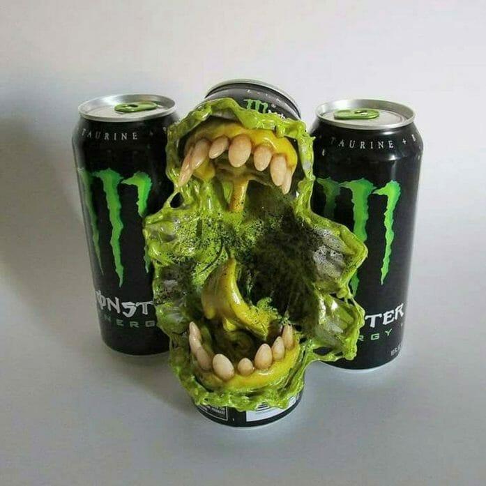 Travis Mullins monster can
