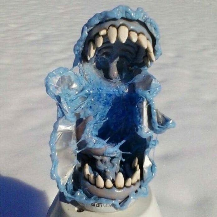 Travis Mullins blue monster