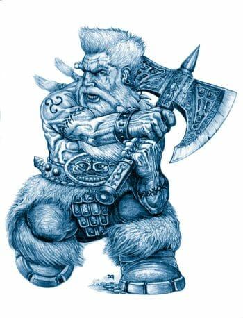 Sword Chronicle dwarf