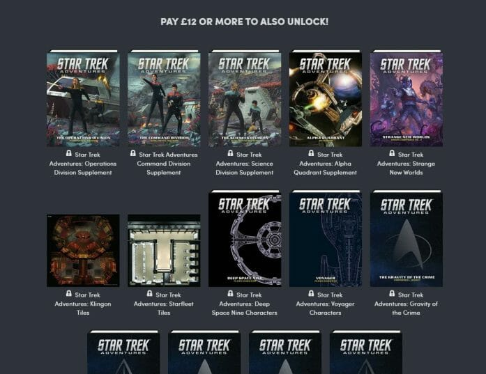 Star Trek RPG bundle