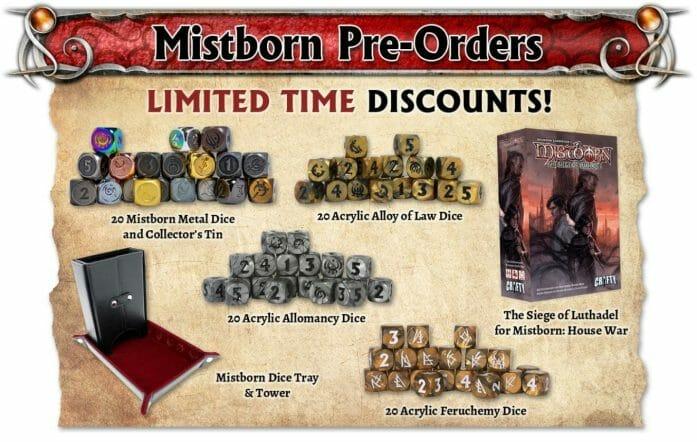 Mistborn pre-orders