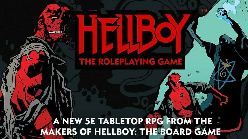Hellboy RPG Kickstarter