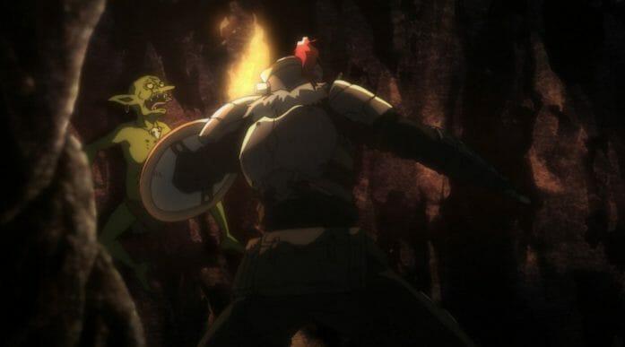 Goblin Slayer - Goblin's Crown - fight scene