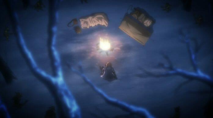 Goblin Slayer - Goblin's Crown - camp scene