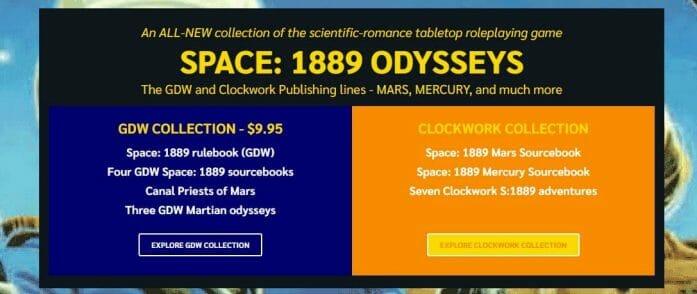 Space: 1889 Odysseys