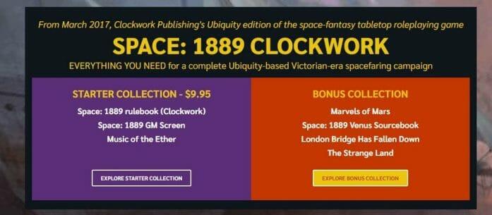 Space: 1889 Clockwork