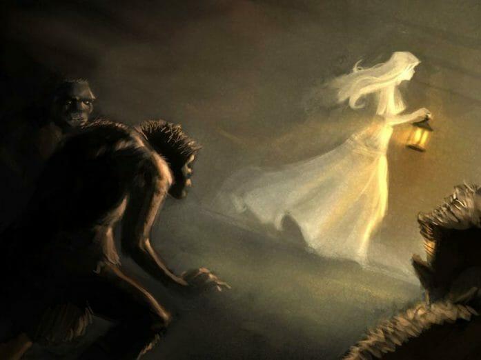 Ghost Lantern by Joel Chua