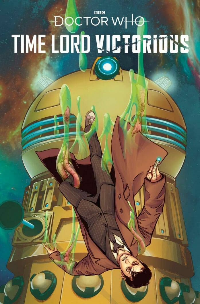 Time Lord Victorious #1 covers